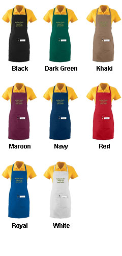 Oversized Waiter Apron With Pockets - All Colors
