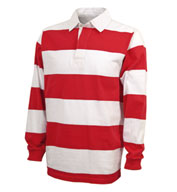 Classic Rugby Shirt by Charles River Apparel