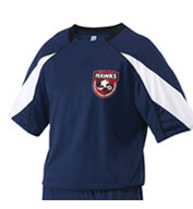 Custom Teamwork Youth Cosmos Soccer Jersey