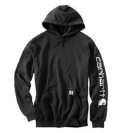 Custom Carhartt Midweight Hooded Logo Sweatshirt Mens