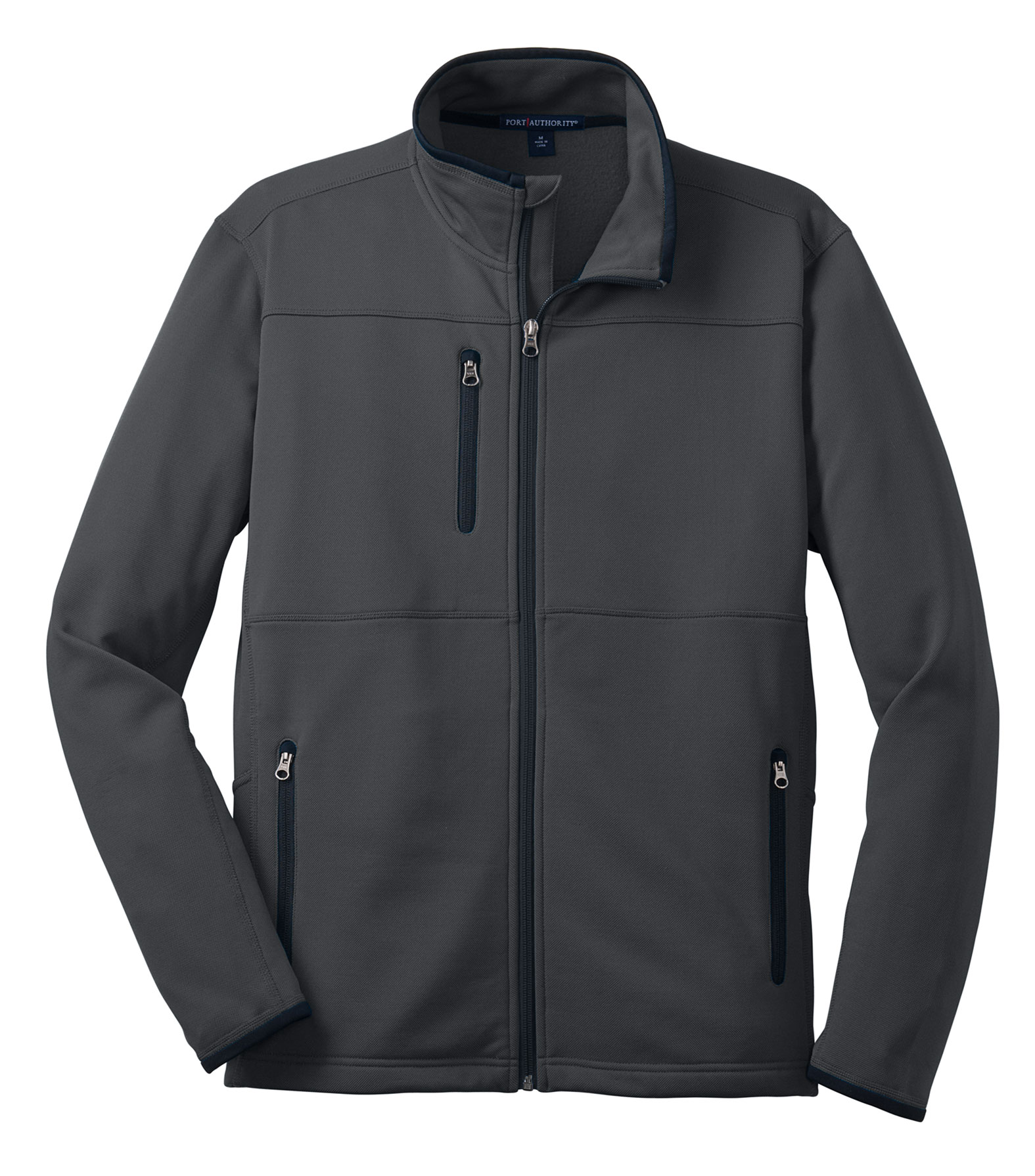 Mens Pique Fleece Jacket