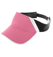 Youth Athletic Mesh and Dazzle Stripe Visor