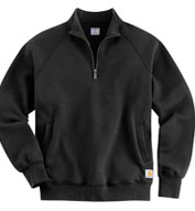 Custom Carhartt Midweight Quarter-Zip Sweatshirt Mens