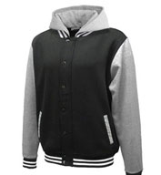 Custom Varsity Fleece Hoodie with Removable Hood