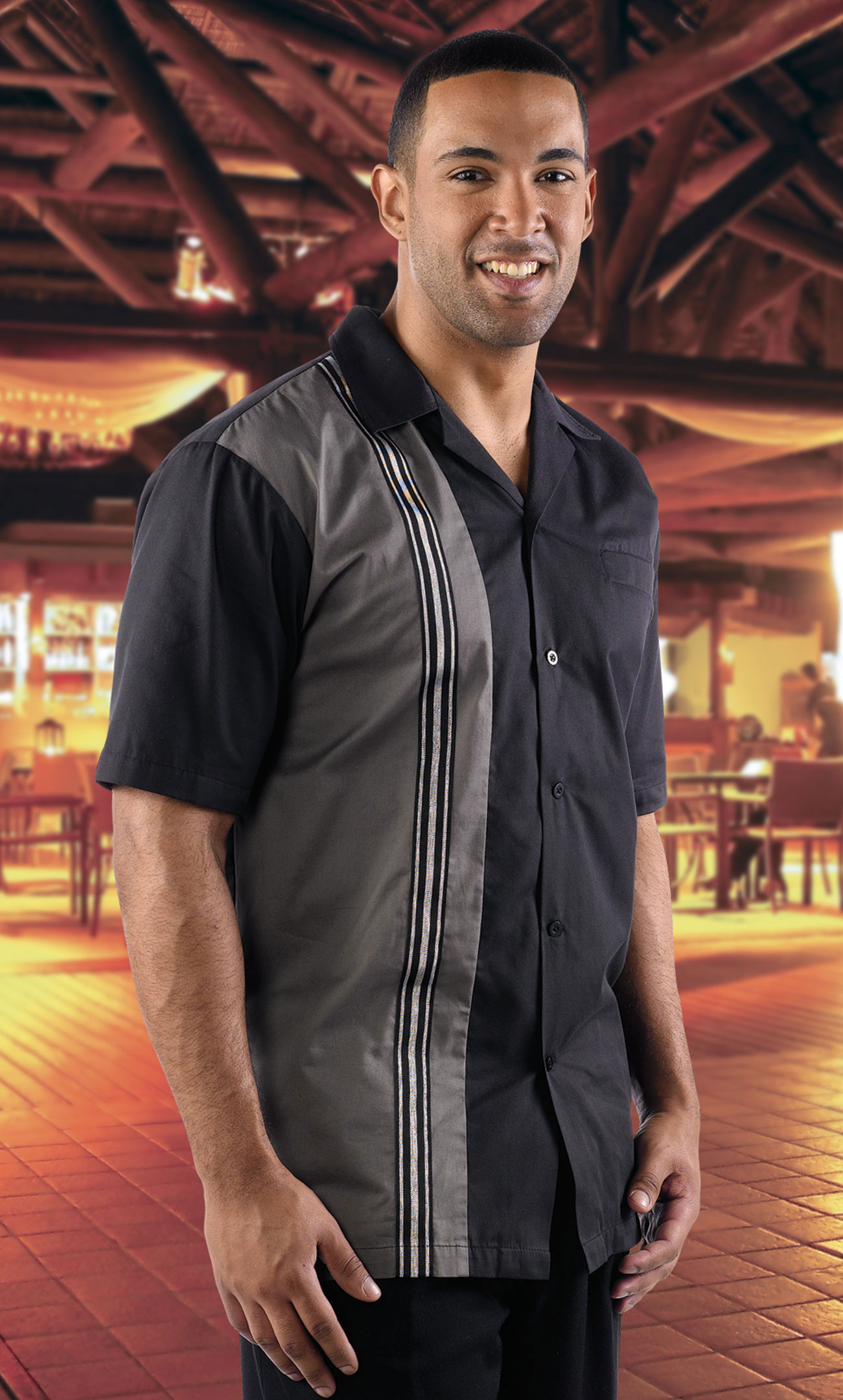 Adult Striker Bowling Shirt