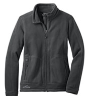 Custom Eddie Bauer® Ladies Wind Resistant Full-Zip Fleece Jacket