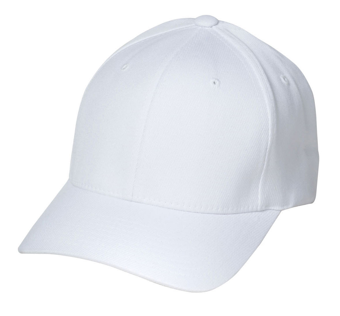 Youth Solid White Football Referee Cap