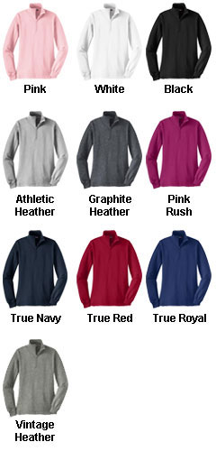 Ladies Sport-Tek� 1/4 Zip Sweatshirt - All Colors