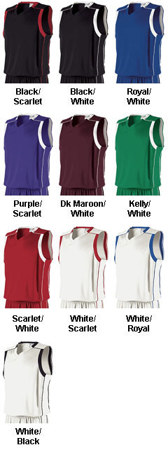 Holloway Youth Carthage Performance Basketball Jersey - All Colors