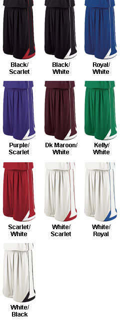 Holloway Adult Carthage Performance Basketball Short - All Colors