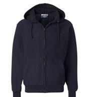 Weatherproof - Cross Weave Full-Zip Hooded Sweatshirt