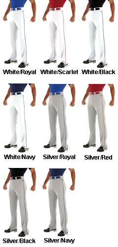 Teamwork Adult Relay Piped Baseball Pant - All Colors