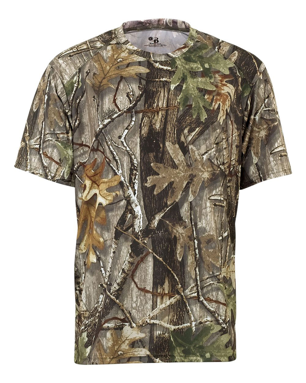 Youth Badger Core Tee in Camo