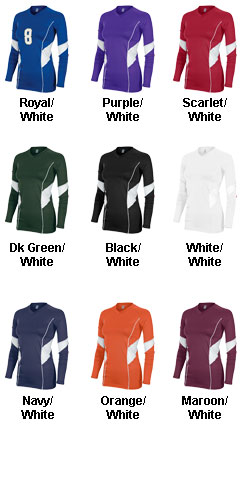 Teamwork Womens Momentum Long Sleeve Jersey - All Colors