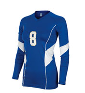 Custom Teamwork Girls Momentum Long Sleeve Jersey