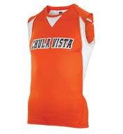 Custom Teamwork Adult Volt Track Singlet Mens