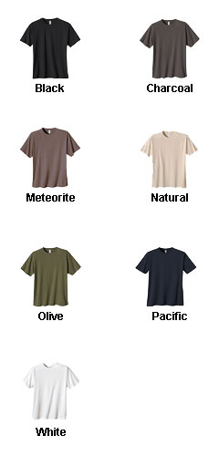 Econscious Mens Cotton Classic Short-Sleeve T-Shirt - All Colors