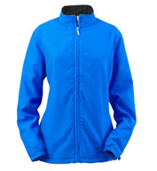 Custom Ashworth Ladies� Full-Zip Lined Wind Jacket