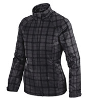 Custom Locale Ladies' Lightweight City Plaid Jacket