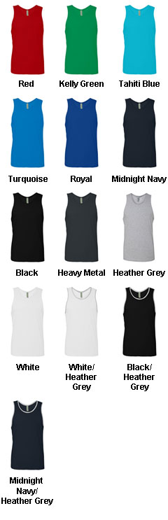 Next Level Mens Jersey Tank - All Colors