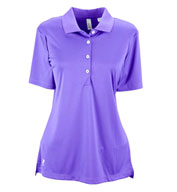 Custom Ashworth Ladies� Performance Interlock Solid Polo