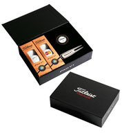 Custom Titleist Pro V1x Presentation Box With Customizable Golf Balls