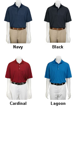 Greg Norman Adult Fine Line Stripe Polo - All Colors