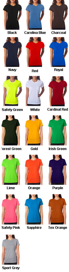 Gildan Ladies Core Performance T-Shirt - All Colors