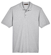 Custom Men�s Ringspun Cotton Pique Short-Sleeve Polo