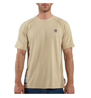 Custom Flame Resistant Force Short Sleeve T-shirt by Carhartt