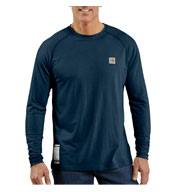 Custom Flame Resistant Work-Dry® Long Sleeve T-shirt by Carhartt
