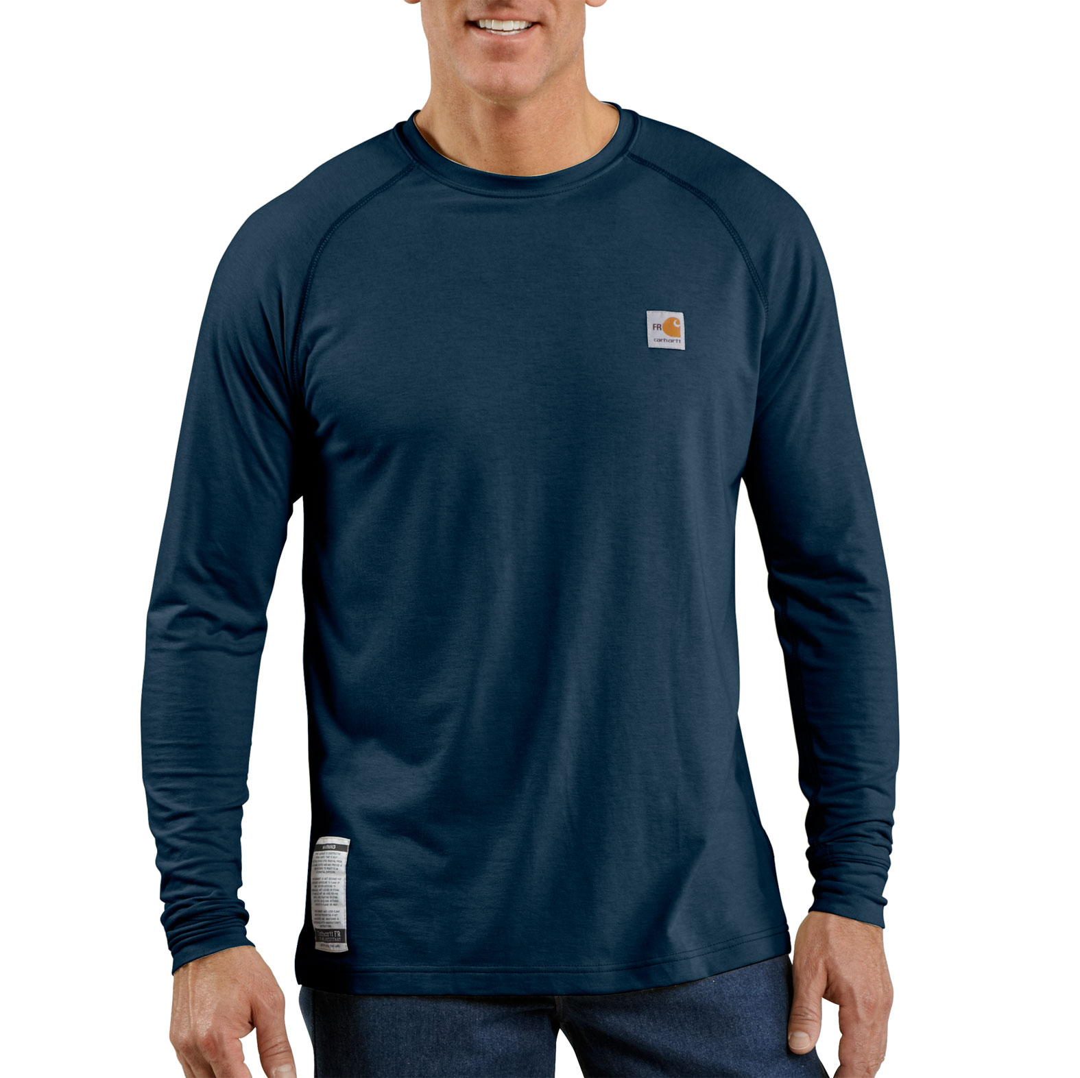 Flame Resistant Work-Dry® Long Sleeve T-shirt by Carhartt