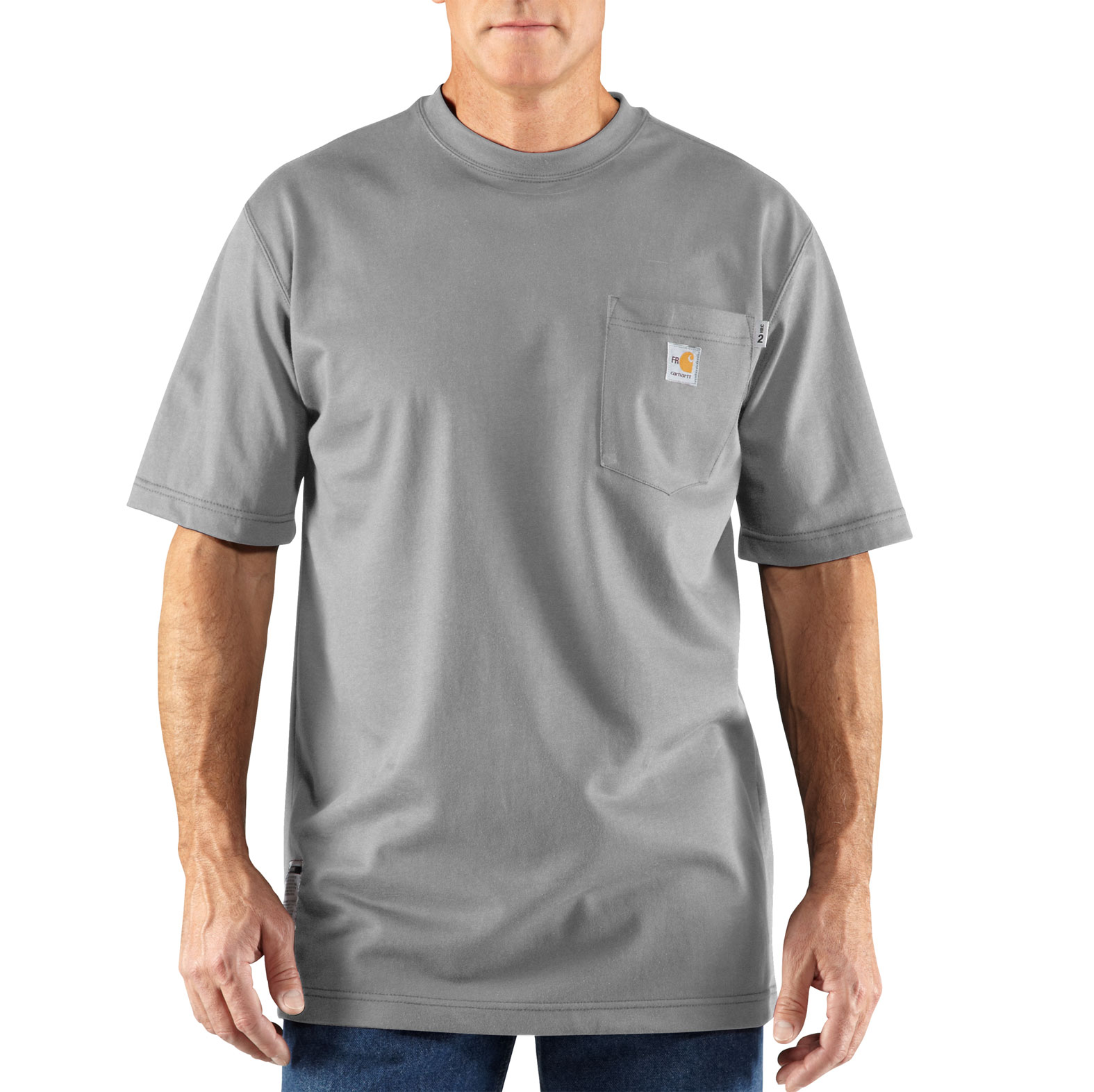 Carhartt Mens Flame-Resistant Force� Cotton T-shirt