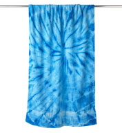 Custom Tie-Dyed Beach Towel