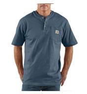 Custom Carhartt Short Sleeve Workwear Henley