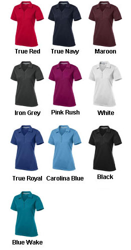PosiCharge Micro-Mesh Ladies Polo - All Colors