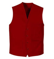 Button Front Apron Vest