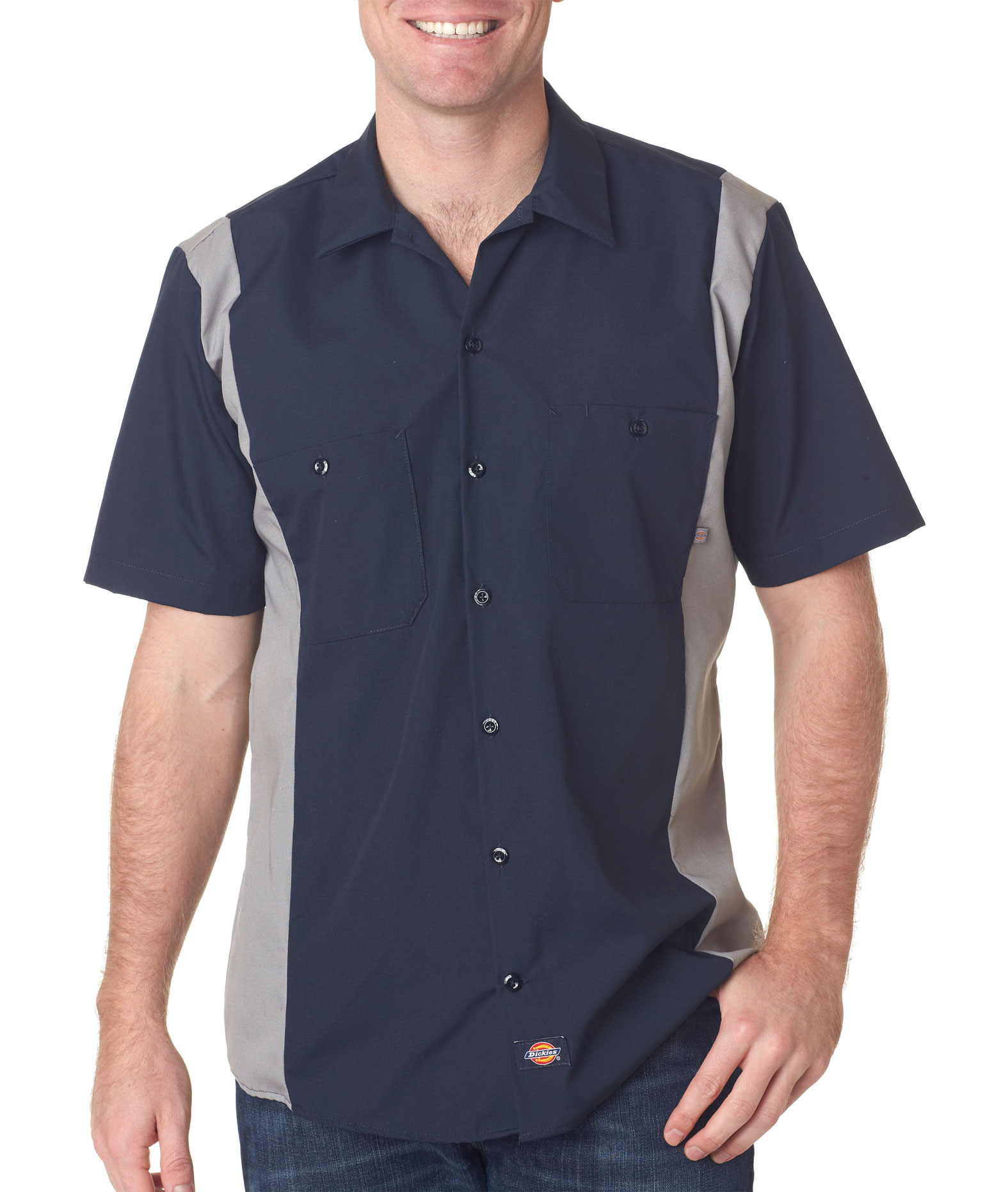 Dickies Adult Industrial Color Block Shirt