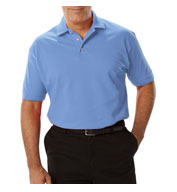 Mens Short Sleeve Superblend Polo