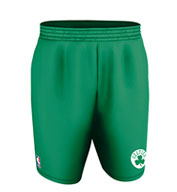 Custom Team NBA Boston Celtics Youth Shorts