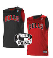 Custom Team NBA Chicago Bulls Youth Reversible Jersey