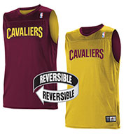 Custom Team NBA Cleveland Cavaliers Adult Reversible Jersey