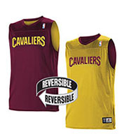 Custom Team NBA Cleveland Cavaliers Youth Reversible Jersey