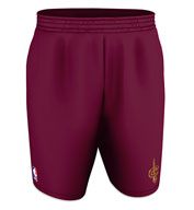 Custom Team NBA Cleveland Cavaliers Adult Shorts