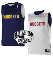 Custom Team NBA Denver Nuggets Youth Reversible Jersey