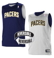 Custom Team NBA Indiana Pacers Adult Reversible Jersey