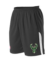 Custom Team NBA Milwaukee Bucks Youth Shorts