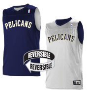 Custom Team NBA New Orleans Pelicans Adult Reversible Jersey