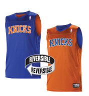Custom Team NBA New York Knicks Youth Reversible Jersey