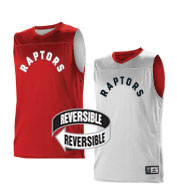 Custom Team NBA Toronto Raptors Youth Reversible Jersey